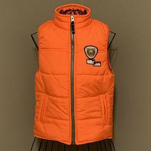 Carter's Boy's Zip-Up Puffer Jacket Orange  7T